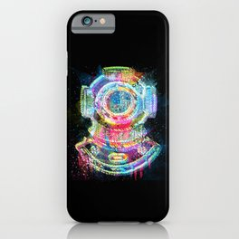 The Diver iPhone Case
