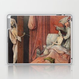 Hieronymus Bosch - Death And The Miser. Laptop & iPad Skin