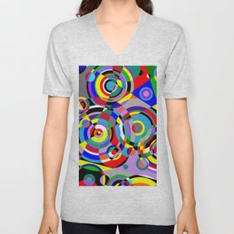 Raindrops by Bruce Gray Unisex V-Neck