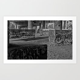 Colorblind Hooligans Art Print