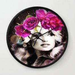 Holy Dolly (dolly parton) Wall Clock