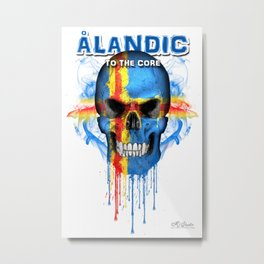 To The Core Collection: Åland Islands Metal Print