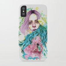 Garden  iPhone X Slim Case