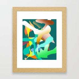 Blowin in The Wind Framed Art Print