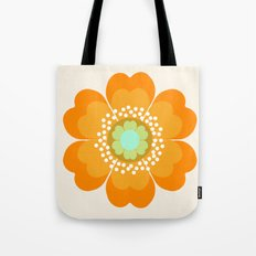 Jivin' - 70's retro throwback art floral flower motif decor hipster Tote Bag