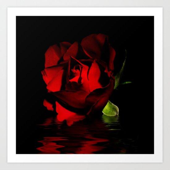 The Rose Art Print
