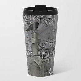 Gothic Scribbles Travel Mug