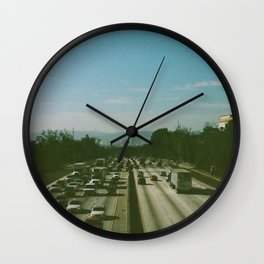 Freeway Wall Clock