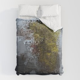 Cracked Delusions Comforters