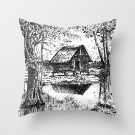 BAHAY KUBO Throw Pillow