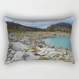 Medicine Lake in Jasper National Park, Canada Rectangular Pillow