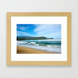 Hanalei Bay.. Framed Art Print