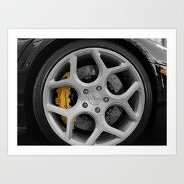 Lamb Wheel Art Print
