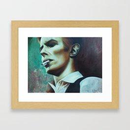 The Thin White Duke Framed Art Print