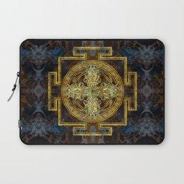 Double Dorje - Vishvavajra  -Vajra Laptop Sleeve