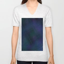 Re-Created Twisted SQ XVIII by Robert S. Lee Unisex V-Neck