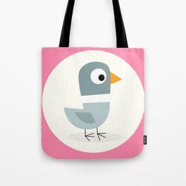Mr Bird Pink Tote Bag