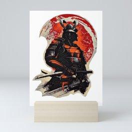 Samurai Ninja Warrior  Mini Art Print