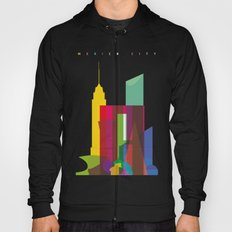Shapes of Mexico City accurate to scale Hoody