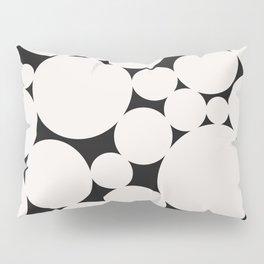 Circular Collage - Black & White II Pillow Sham
