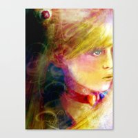 sailor moon Canvas Prints featuring Sailor Moon by Dyna-Soar!