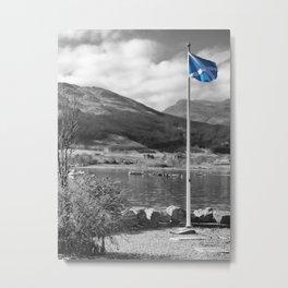 Flying the Flag Metal Print