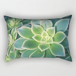 Succulent Plants - Nature Photography Rectangular Pillow
