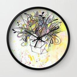 Brain Food Wall Clock