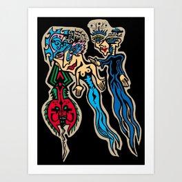Mary Jane Art Print