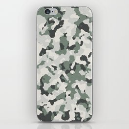 Camouflage Pattern iPhone Skin