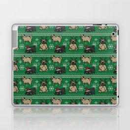 CHRISTMAS PUG Laptop & iPad Skin