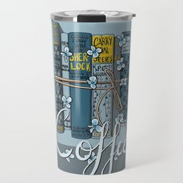 Book-type Packages Tied Up With String Travel Mug