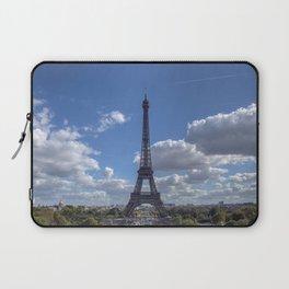 Eiffel tower from Trocadero Laptop Sleeve