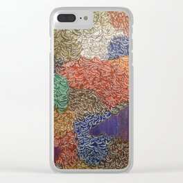 10,000 Leaves Clear iPhone Case