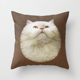 Round Cat - Yom Throw Pillow