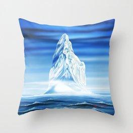 ICEBOUND Throw Pillow