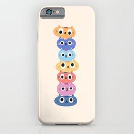 Cat Stack iPhone Case