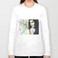 amelie Long Sleeve T-shirts featuring Amelie by Jessis Kunstpunkt.