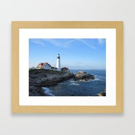 Portland Headlight 2 Framed Art Print