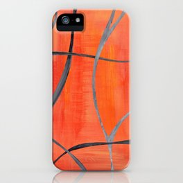 Autumn intertwined iPhone Case