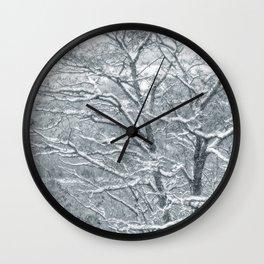 Winter Moods 1 Wall Clock