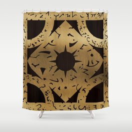 Lament Configuration Side F Shower Curtain