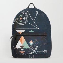 iSpeak Truth Tribe Geometry Blue Backpack