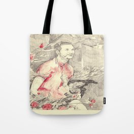RiFF RAFF with ReD ROSeS Tote Bag