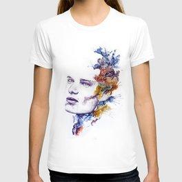 Color Explosion Portrait T-shirt