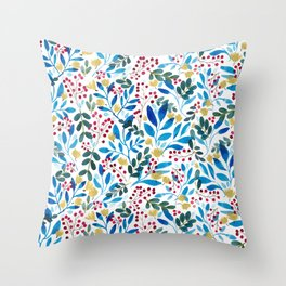 Fall Flavors Throw Pillow