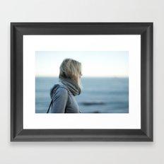 Wavelengths Framed Art Print
