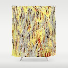 Field of barley Shower Curtain