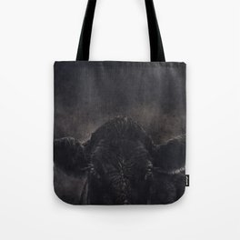 Tinsi cow Tote Bag