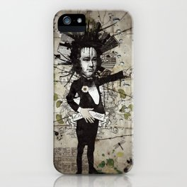 Mr. Hungry iPhone Case